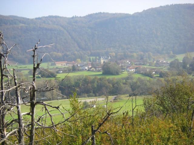 Vallée de la valouse Cornod